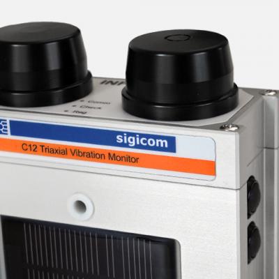 sigicom-infra-c12-digital-tradlos-triaxiell-vibrationsmatare