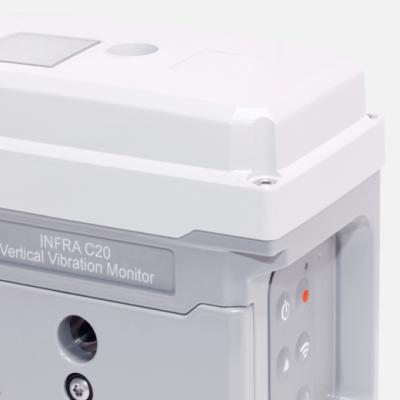 Wirelessvertikal vibration monitor - INFRA C20 - Sigicom