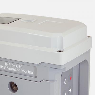 Sigicom INFRA C20 vibrationsmätare trådlös datalogger